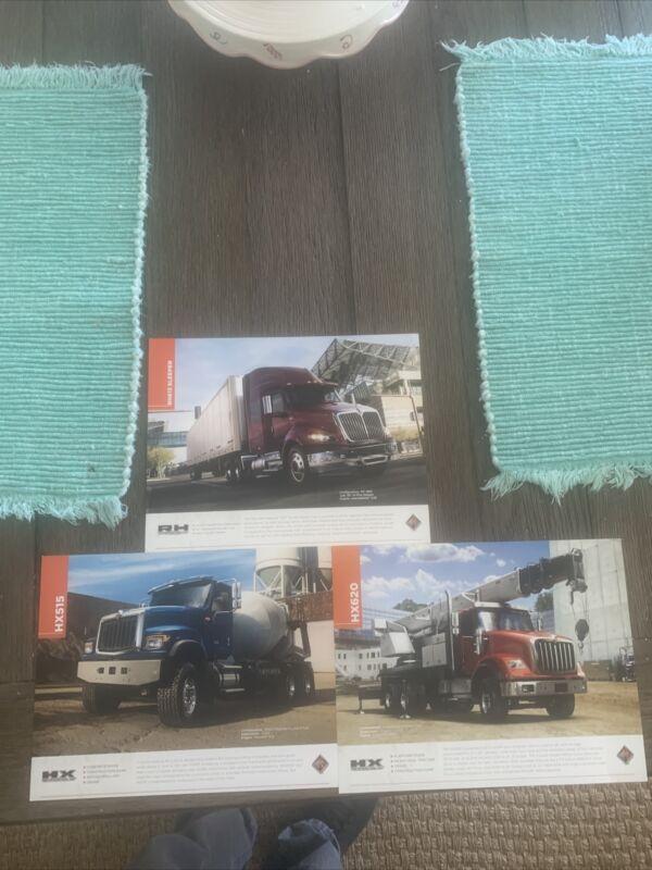 Lot/3 International Truck  3-Sided  Sheets