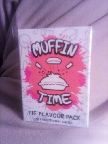 Muffin Time Party Card Game Pie Flavour Pack expansion new & sealed