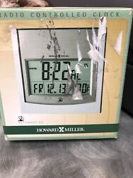 Howard Miller 625-235 Techtime I Radio-Controlled LCD Wall/Table Alarm Clock