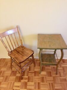 Table &chaire