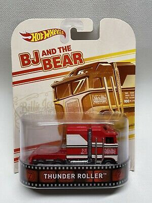 Hot Wheels Retro Entertainment BJ And The Bear Thunder Roller Semi Truck - RR
