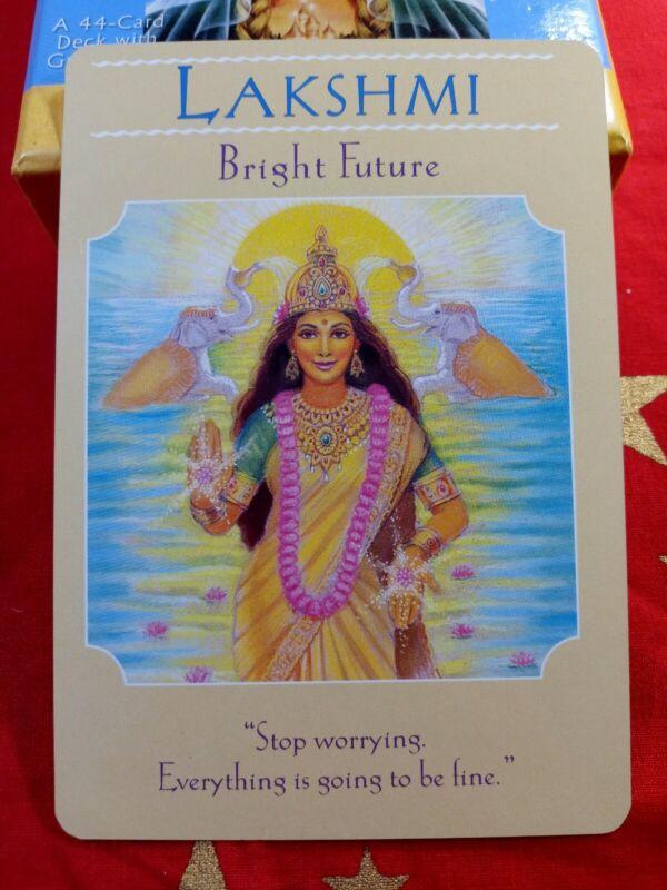 Lakshmi - Single Card Replacement - Authentic Goddess Guidance Doreen Virtue