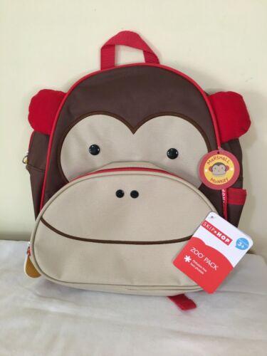 New Skip Hop Monkey Backpack Marshall Junior Preschool