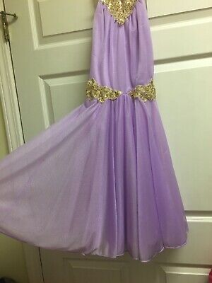 Lilac & Gold Ballet Costume Adult Small (YAGP classical/contemporary) dress