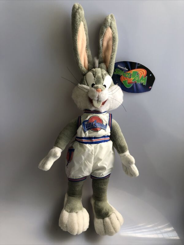 Bugs Bunny 18 Inch Plush Warner Bros 1996 Space Jam Looney Tunes Play By Play