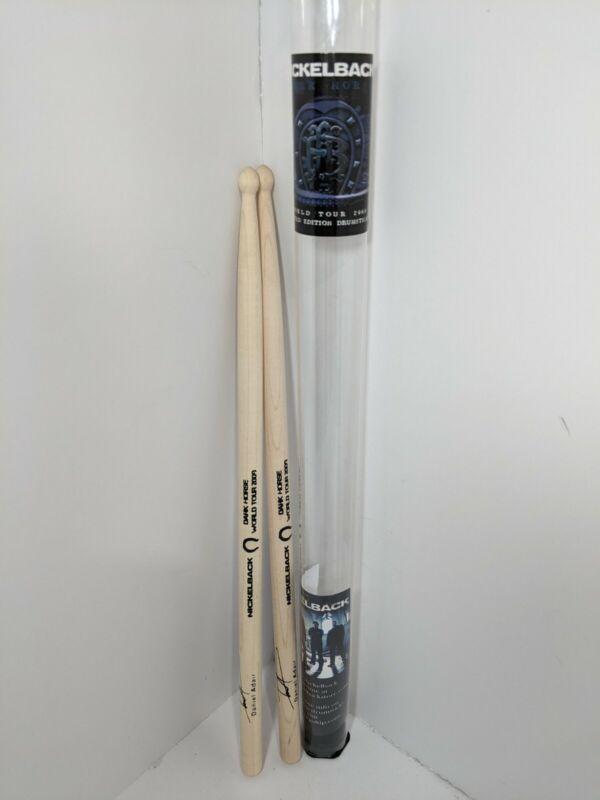 Nickelback 2009 Dark Horse World Tour Limited Edition Drum Sticks - Never Used
