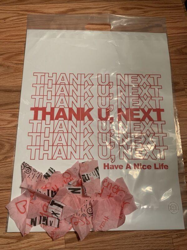 Ariana Grande Thank U Next Shopper Bag + Sweetener Tour Confetti