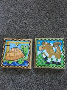 Melissa and Doug Block Puzzles