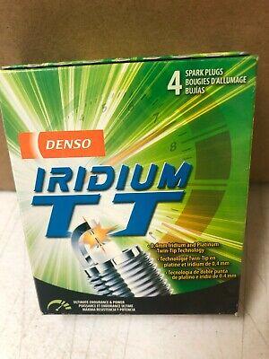 4 Pack Denso 4709 Iridium TT Spark Plugs  IW20TT
