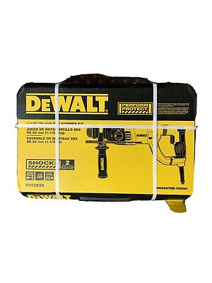 Dewalt D25263k D-handle Sds Hammer Kit New In The Box Free Shipping
