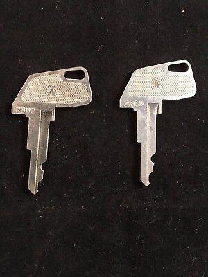 Tec Cash Register X Key 2302 Set Of 2