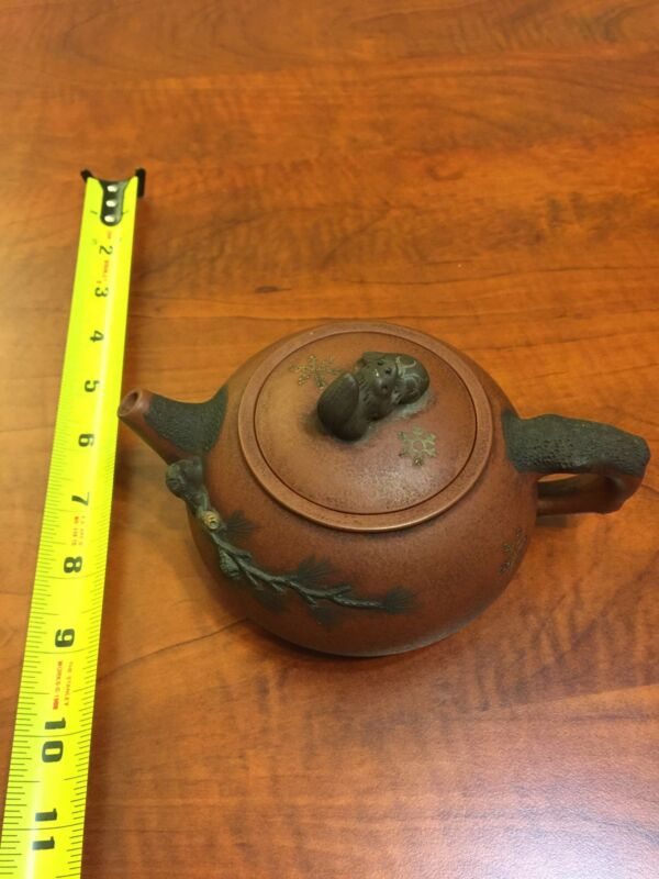 Antique Zisha teapot