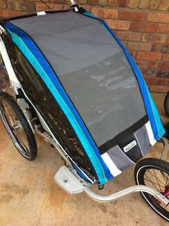 Chariot CX2  Bike Trailer, Jogging kit, cycling kit, raincover