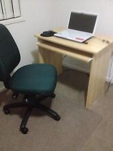 Office chair and student computer desk Browns Plains Logan Area Preview