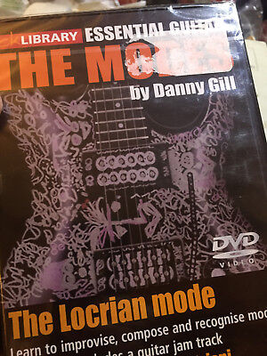 The Modi (The Locrian Modus _ Danny Gill Lick Bibliothek Gitarre DVD Neu ()