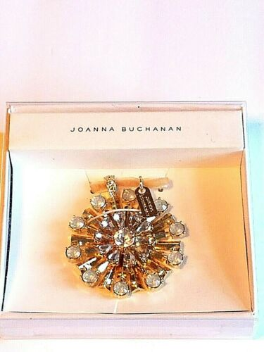 Joanna Buchanan Gold Tone And Rhinestone Special Occasion Ornament New In Box