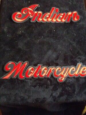vintage collectable INDIAN MOTORCYCLE patchs xxl rockers