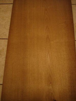 Teak Veneer On Wood On Wood Veneer 14 Wide X 96 Long 128 Or .035 Thick