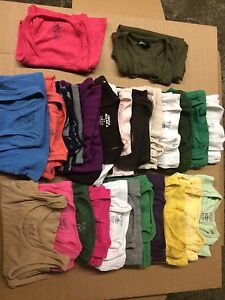 Women's tank tops - 25 pcs (xs and s)