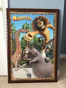 Madagascar Framed Movie Poster