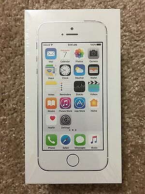 Apple iPhone 5s 16GB Silver - Straight Talk - Brand New & Sealed