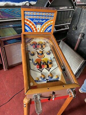 1938 Daval Pre-flipper Pinball Machine USA