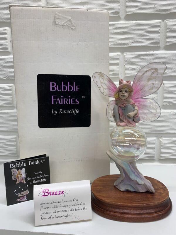 """1989 Rawcliffe 8""""Bubble Fairy """"Breeze""""by Jessica de Stefano Retired Original Box"""