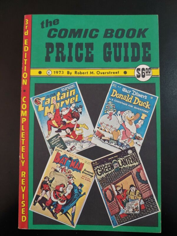 OVERSTREET Comic Book PRICE Guide 1973, #3, 2nd Edition VF/NM Book
