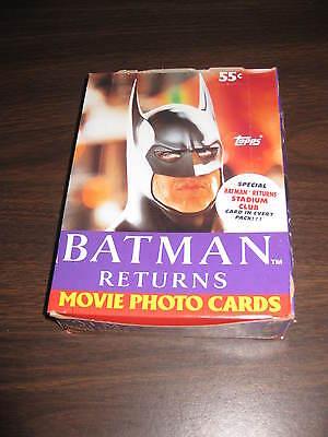 Batman Returns Trading Card Box Topps