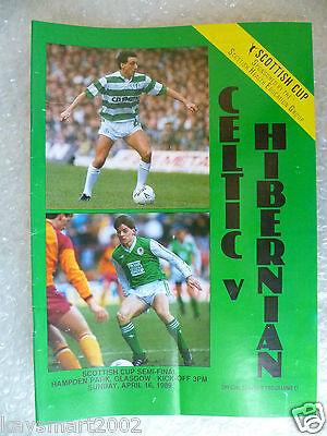 1989 Scottish Cup Semi FINAL - CELTIC v HIBERNIAN, 16th April