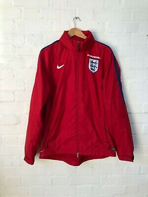 Nike England Football Men's Training Raincoat - XL - Red - New