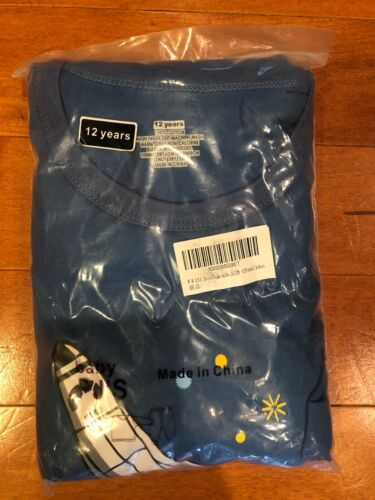 Boys Space Shuttle Pajama Set Brand New - 2 pieces 12 yrs. old