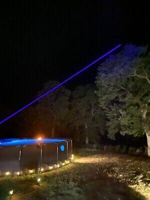 Powerful Blue Purple Laser Pointer 450nm Wicked High Power Burning Lazer Bright