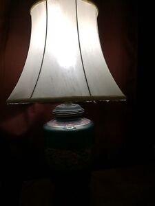 2 Vintage tri light Lamps