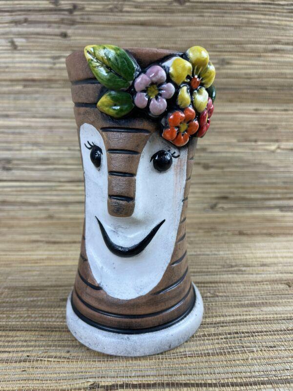 Lady Bob Tiki Mug by Maka Tiki Flowers Colorful Home Tiki Bar Tiki Bob