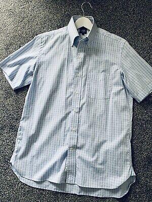 J PRESS Men's Summer Shirt, Cotton Button Down, Mod, Ivy, John Simons Size Large
