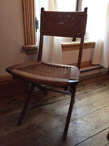 Chaise mid century Hans Wegner