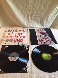 Paul McCartney record vinyl LPs