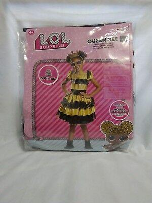 Queen Bee Halloween Costumes (Disguise Queen Bee Classic L.O.L Surprise Fancy Dress Halloween Child)