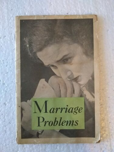 1906 or Before Lydia Pinkhams Marriage Problems Vegetable Compound 30 pg Booklet
