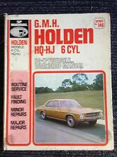 Holden HQ-HJ  6cyl workshop manual Kenmore Brisbane North West Preview