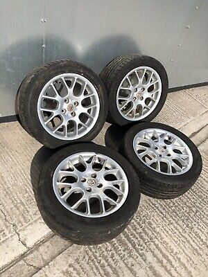 "MG Rover 16"" Alloy Wheels 4x100"