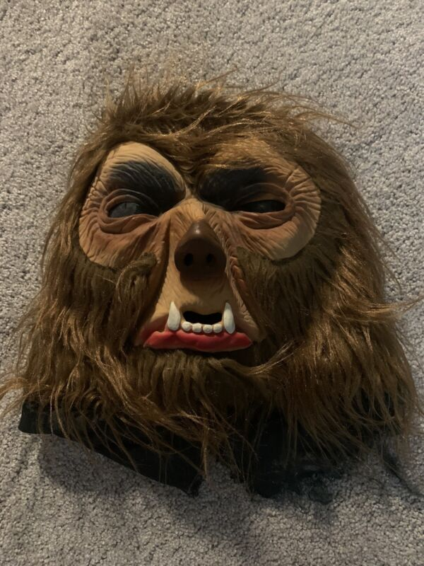 Vintage Topstone Halloween Mask Werewolf Monster Creepy - See Details!