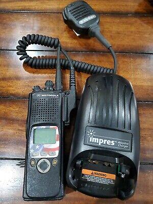 Motorola Astro Xts5000 Ii 7800mhz P25 9600 Digital Radio Adp Trunking Impres