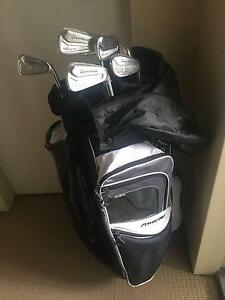 TaylorMade Tour Preferred MC Iron Set  & PowerBilt Cart Bag Penrith Penrith Area Preview