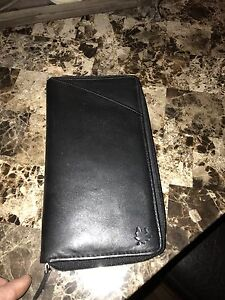 Genuine leather travel wallet - brand new Kitchener / Waterloo Kitchener Area image 1