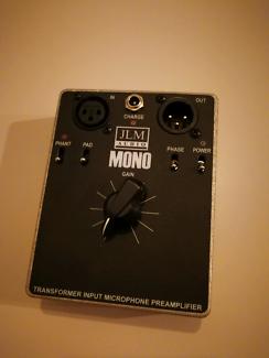 JLM Mono microphone preamp (metal case version)