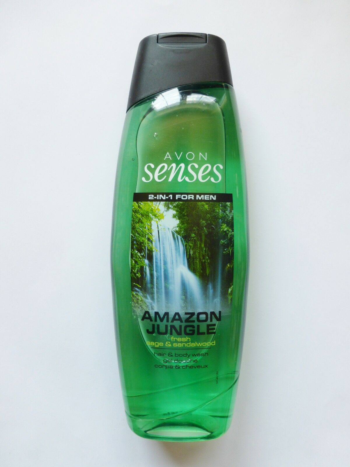 (1L/4,98€) Avon Amazon Jungle Shampoo & Duschg. Salbei & Sandelholz  500ml