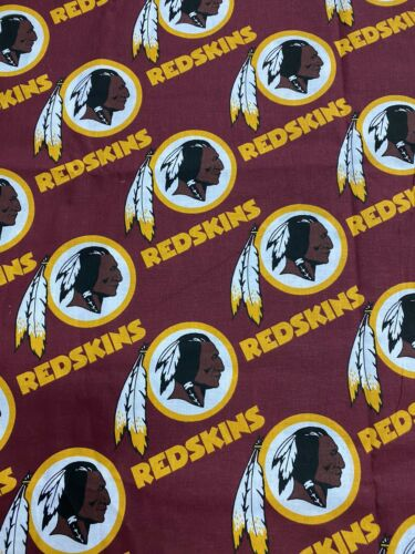 NFL Washington Redskins Cotton Fabric