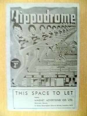 Hippodrome Theatre Programme 1946- VENUS STEPS OUT